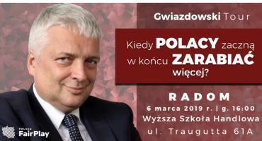 Spotkanie z Robertem Gwiazdowskim, założycielem