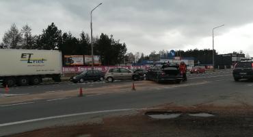 Groźny wypadek na Warszawskiej [FOTO]