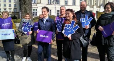 Wiosna Roberta Biedronia startuje z kampanią do Europarlamentu