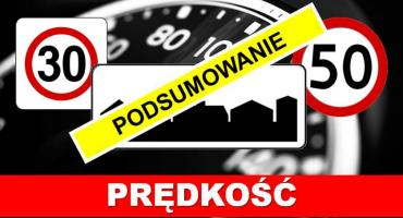 """Policja podsumowała piątkowy """"Kaskadowy pomiar prędkości"""""""