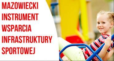 10 mln z budżetu Mazowsza na obiekty sportowe