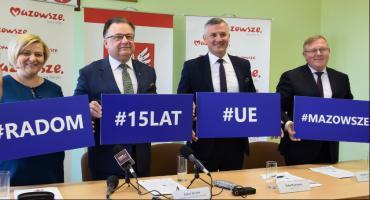 Podsumowanie 15 lat Mazowsza w Unii Europejskiej. Co zyskał subregion radomski? [FOTO]