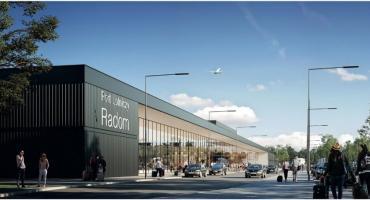 Tak będzie wyglądać nowe lotnisko w Radomiu [WIZUALIZACJE]