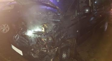 Liczne pożary samochodów