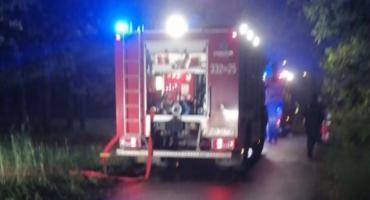 Groźny pożar w Myśliszewicach [FOTO]