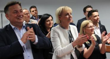 Wybory do Parlamentu Europejskiego 2019. Radość w szeregach Prawa i Sprawiedliwości [FOTO]