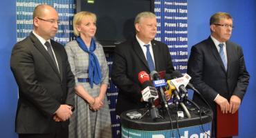 Politycy PiS dziękują wyborcom za poparcie w wyborach do Europarlamentu [FOTO]