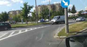 Kolizja na skrzyżowaniu Struga i 11. Listopada
