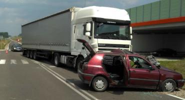 Zderzenie pojazdów w Mleczkowie