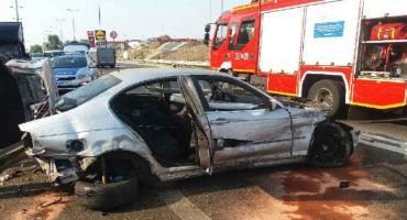 21-latek bez uprawnień spowodował wypadek [FOTO]