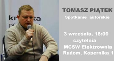 """Spotkanie z Tomaszem Piątkiem, autorem książki """"Morawiecki i jego tajemnice"""""""