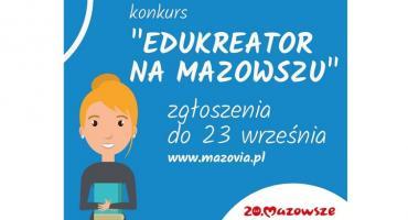 Kreatywne szkoły i pomysłowi nauczyciele poszukiwani