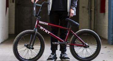 Nietrzeźwi nastolatkowie na rowerach