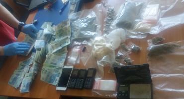 Policja zatrzymała dilera narkotyków