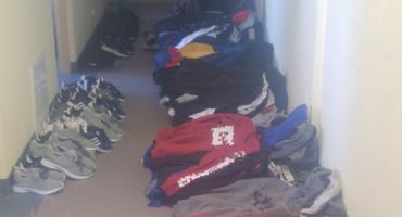 Handlowała podrabianą odzieżą