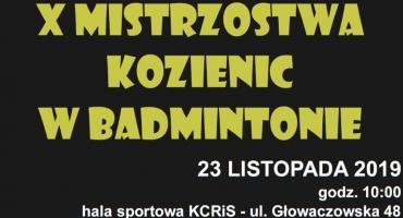 X Mistrzostwa Kozienic w Badmintonie