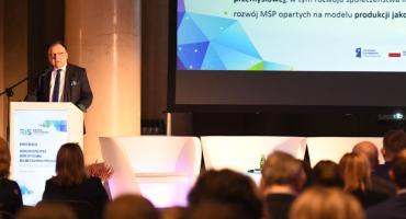 """""""Nowa perspektywa – nowe wyzwania dla inteligentnej specjalizacji województwa mazowieckiego"""" – konferencja"""