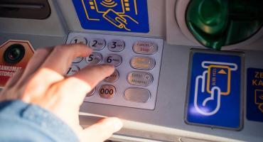 Areszt za usiłowanie włamania do bankomatu