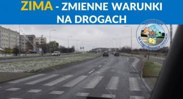 Idzie zima - porady dla kierowców i pieszych