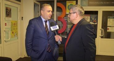 Krótki wywiad z Grzegorzem Schetyną po spotkaniu w Piasecznie