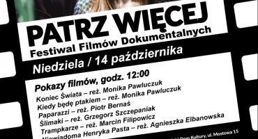 Festiwal Filmu PATRZ WIĘCEJ