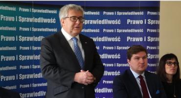 Ryszard Czarnecki, europoseł PiS w Piasecznie