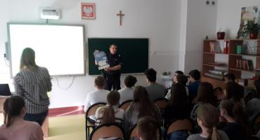 Działania profilaktyczne zorganizowane przez dzielnicowego z Tarczyna