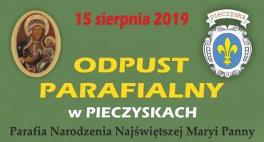 Zaproszenie na odpust do Pieczysk