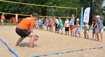 Nowe boisko do siatkówki plażowej dla wszystkich chętnych przy ul. Sosnkowskiego 3