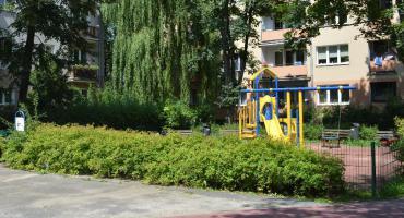 Plac zabaw przy ul. Obrońców Helu