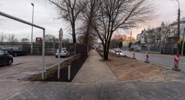Zakończyły się prace związane z budową chodnika na ulicy Ryżowej