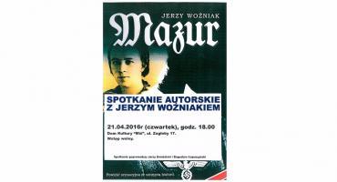 Spotkanie z autorem książki Mazur w DK Miś