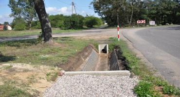 Budowa odwodnienia skrzyżowania ulic Szkolnej i Polnej w Żółwinie