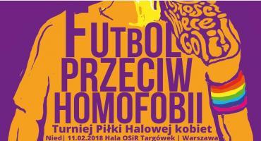 Turniej FUTBOL PRZECIW HOMOFOBII w Warszawie
