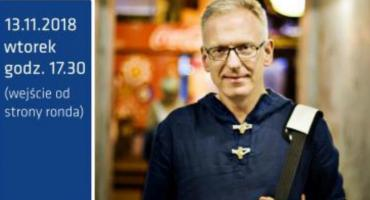 Spotkanie autorskie z Mariuszem Szczygłem w Nadarzynie