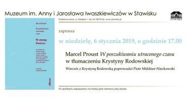 Muzeum im. Anny i Jarosława Iwaszkiewiczów w Stawisku  Zaprasza w niedzielę, 6 stycznia, o godzinie