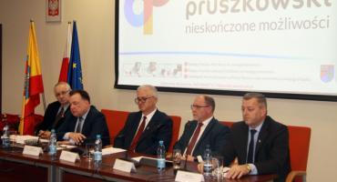 Posiedzenie Konwentu Powiatów Województwa Mazowieckiego w Pruszkowie