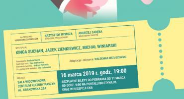 """Spektakl """"Romans z pajacem"""" w ramach """"Wehikułu Teatralnego Powiatu Pruszkowskiego"""""""