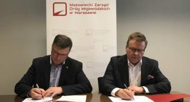 Porozumienia gminy Brwinów z Mazowieckim Zarządem Dróg Wojewódzkich