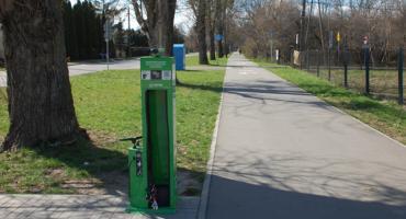 Siedem stacji napraw rowerów w gminie Brwinów