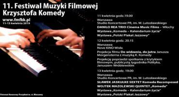 11. Festiwal Muzyki Filmowej Krzysztofa Komedy