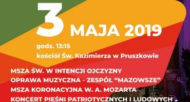 Obchody w Pruszkowie 228. rocznicy uchwalenia Konstytucji 3 Maja