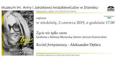 Barbara Młynarska-Ahrens i Jerzy Sosnowski w Stawisku