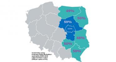 Marszałek apeluje do premiera o włączenie Mazowsza do Polski wschodniej