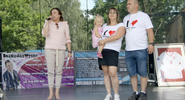 Piknik Rodzinny w Pruszkowie - Pierwszy krok Leny