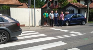 Nowe doświetlenia przejść dla pieszych w Michałowicach i Piastowie