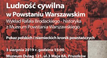 Ludność cywilna w Powstaniu Warszawskim spotkanie w Muzeum Dulag 121