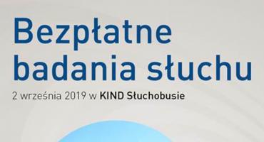 Pruszków - 2. września 2019 roku zapraszamy na bezpłatne badania słuchu