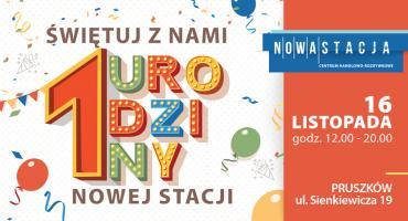 Odjazdowe urodziny Centrum Handlowo-Rozrywkowego Nowa Stacja w Pruszkowie