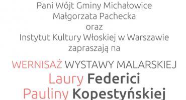 """Zaproszenie na wernisaż wystawy """"Italia-dwa spojrzenia"""" – 22 listopada, godz. 18.30"""
